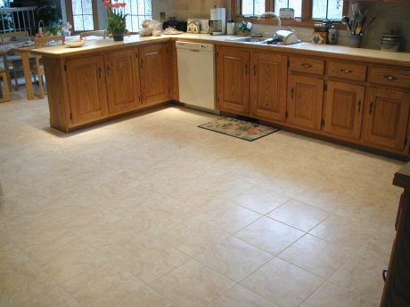 porcelain kitchen floor - Porcelain Kitchen Floor